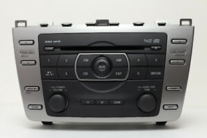 2011 - 2013 Mazda 6 Radio 6 Disc CD Player OEM GEG4 66 9RX #A90