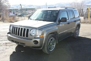 2008 Jeep Patriot Sport 4X4 NOW REDUCED TO ONLY $8780!!
