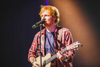 ***YES ROW 2! - CHEAP ED SHEERAN (2) HARD COPY TICKETS IN A ROW!