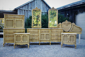 Antique French Vanities, Dressers, Sofas & Chairs Free Delivery