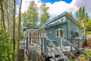 Meticulous Waterfront Home /w Garage/Loft on East Francois Lake