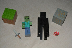 Tons of Minecraft Figures- $15 each set or all for $55