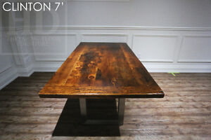 Barnwood Tables - Locally Made from Reclaimed Hemlock & Pine London Ontario image 3