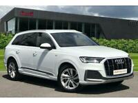 2020 Audi Q7 S line 50 TDI quattro 286 PS tiptronic Estate Diesel Automatic