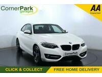 2016 66 BMW 2 SERIES 1.5 218I SPORT 2D 134 BHP