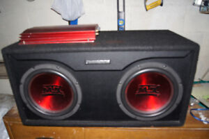 thunder audio woofer for sale