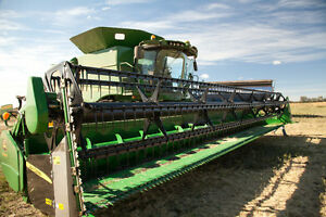 Header for sale, JD 635