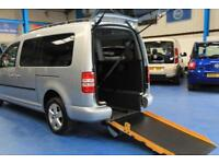 Volkswagen Caddy Maxi Automatic Wheelchair car disabled Accessible vehicle van