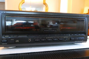 Technics CD changer with rare remote control.