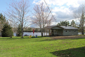 BASS RIVER / Waterfront / Year Round / Tons or Renos / MUST SEE!
