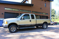 2000 Ford F-250 SD Lariat SuperCab Long Bed 4WD/2WD