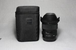 Sigma 24mm 1.4 ART Lens (Canon Mount)