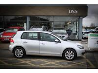 2012 12 VOLKSWAGEN GOLF 2.0 TDi 140 Match 5dr in Silver