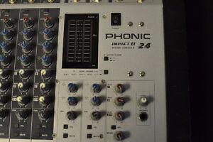 24 Channel Mixing Board