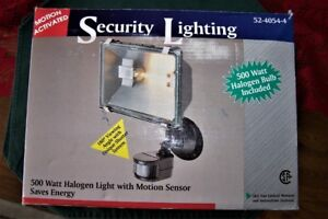 Outdoor Security Lights New in Box