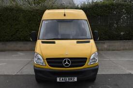 2.1 313 CDI 5D 129 BHP LWB HIGH ROOF DIESEL MANUAL PANEL VAN 2011