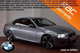 2010 BMW 330d M Sport-HEATED LEATHER-XENONS-DAB-CRUISE-ELECTRIC SEATS-F.S.H.