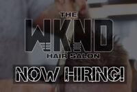 The WKND Hair Salon is NOW HIRING for EXPANSION!