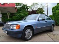 1991 MERCEDES 190 E 2.0 AUTO SALOON PETROL