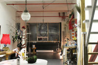 loft- Espace d'atelier d'artiste à louer