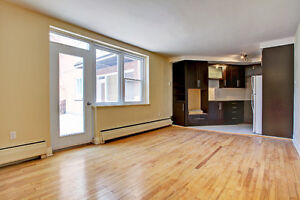 Renovated condo - access to semi-private Courtyard with garage