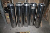 Insulated Chimmney for oil
