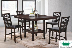 Brand NEW Meghan 5-Piece Dinette! Call 506-854-6686!