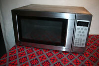 Like New Stainless Steel GE Microwave