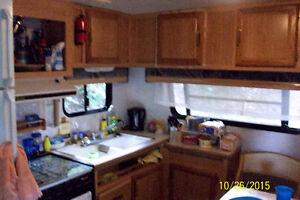 nice, clean trailer at twin cedar family park. price lowered Belleville Belleville Area image 2