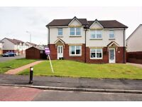 Superb 3-bedroom semi detached home with front & back gardens & driveway