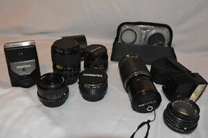 Assorted Lens for Pentax Camera