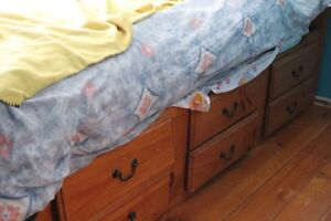 Captains bed and mattress