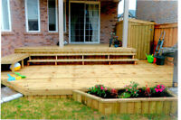 Spring Special...10'x12' deck completely installed $1327