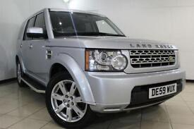 2010 59 LAND ROVER DISCOVERY 3.0 4 TDV6 GS 5DR AUTOMATIC 245 BHP DIESEL