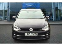 2018 Volkswagen Golf 1.0 TSI 110 SE 5dr with Front and Rear Parking Sensors, Pow
