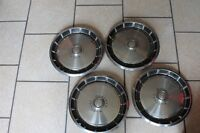 Original Set of 4 Mustang Hubcaps