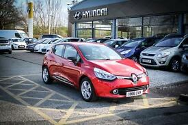 2016 16 RENAULT CLIO Dynamique Nav Tce in Flame Red