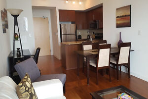 Sept 8: Furnished 2 Bedroom next to Union Station and Harbour