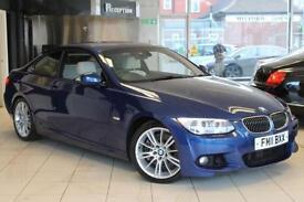2011 11 BMW 3 SERIES 3.0 335I M SPORT 2D 302 BHP