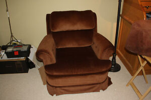 Brown Comfy Chair