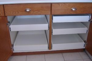 MAKE YOUR KITCHEN MORE USER FRENDLY--CUSTOM MADE ROLLING SHELVES Peterborough Peterborough Area image 2