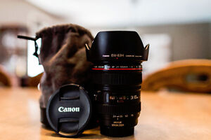 CANON 24-105mm F4L IS USM Lens