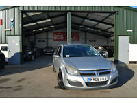Vauxhall/Opel Astra 1.3CDTi 16v ( 90ps ) 2006MY Club NEW SERVICE