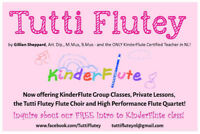Flute and Piano Lessons for All Ages!