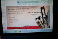 kinneys carpentry