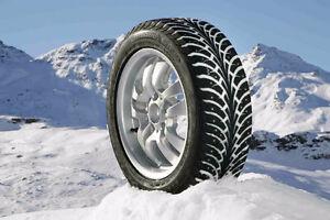 """Installations et vente pneus hivers usagés à bon prix 13"""" à 18"""""""