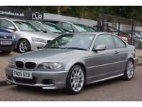 2005 05 BMW 3 SERIES 2.0 320CD SPORT 2D 148 BHP DIESEL