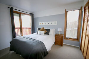 Mont Tremblant Condo Sleeps 4 Free Parking and WIFI