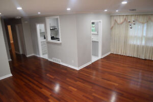 Newly renovated 3 bedroom  main floor in Scarborough
