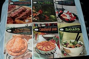 Series of 6 Good Housekeeping Cookbooks 1958